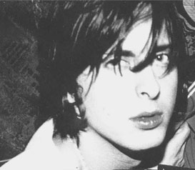 'But he's been practising days to make his hair fall a certain way': Libertine Carl Barat.