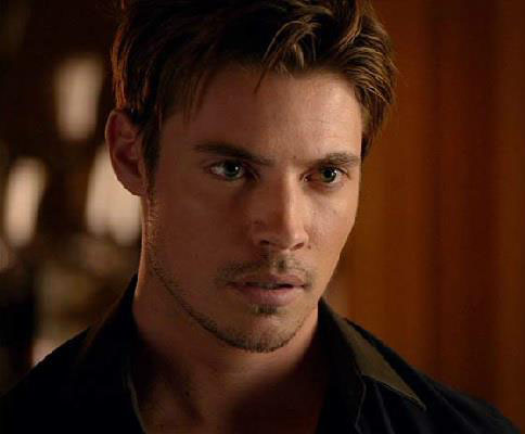 Without a chance for redemption, there's no romance to the role: Josh Henderson as John Ross Ewing.