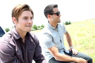 And did I mention that no one looks better in a vest? The sultry Josh Henderson leads the charge as Dallas hits UK shores oncemore